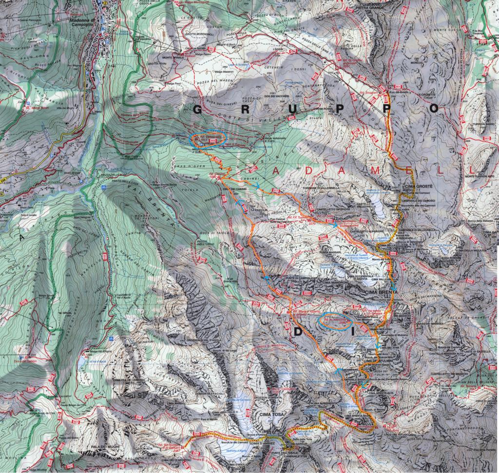 Cartina Bocchette
