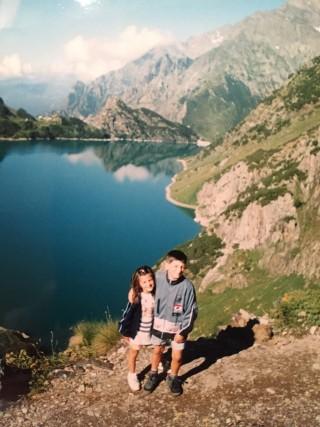 Io e Michi - Rifugio Curò, Agosto 2001